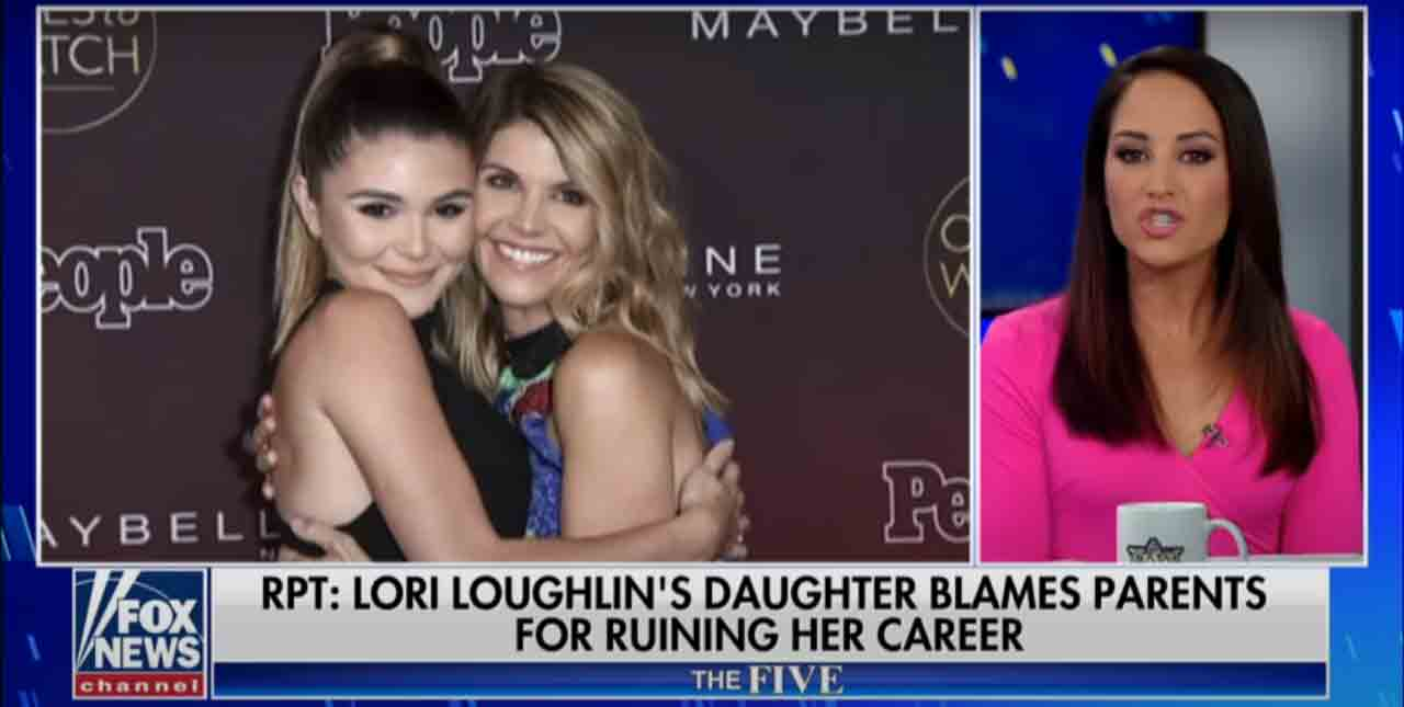A screen cap of the report showing Olivia Jade with her mother