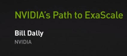 Nvidia's path to exascale