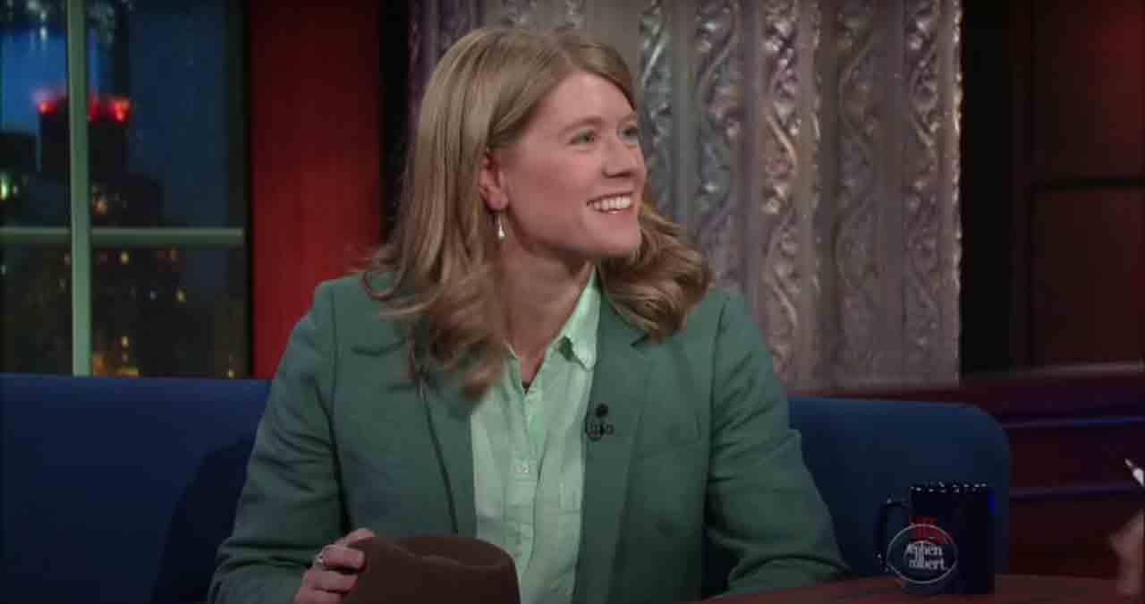 Sarah Parcak interviewed by Stephen Colbert