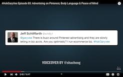 Netizen asked Garyvee on Twitter about advertising on social media