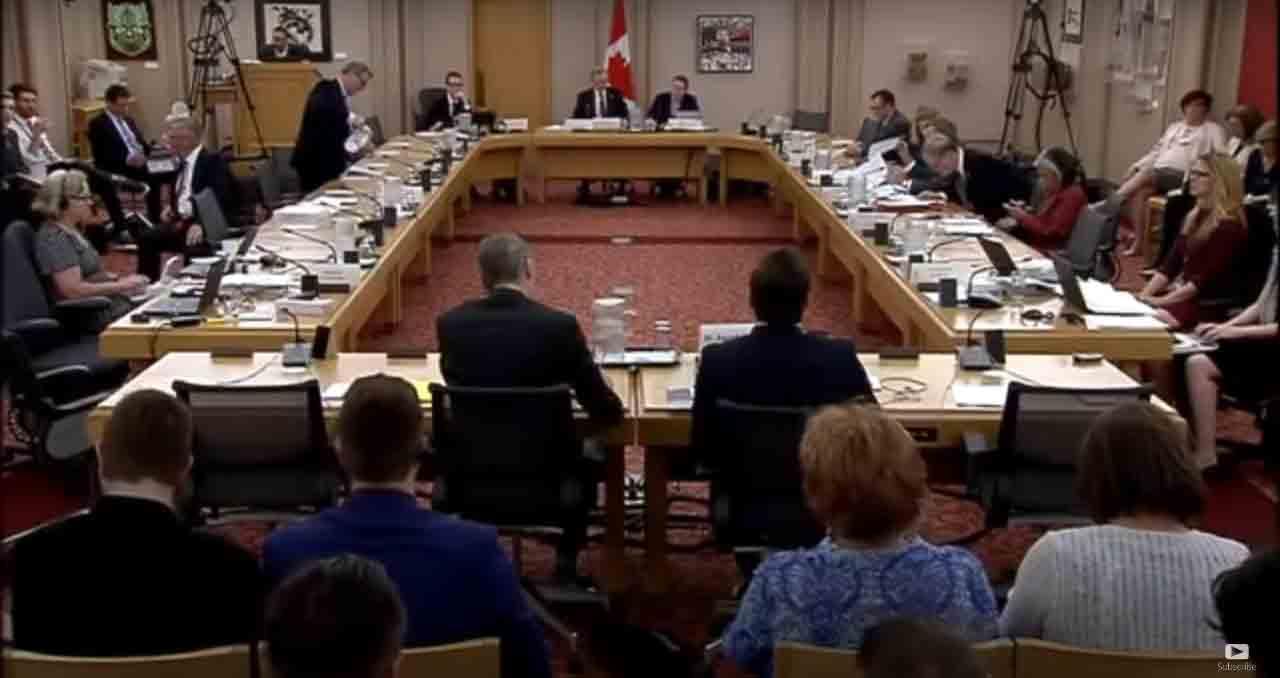 Senate hearing on Bill C16