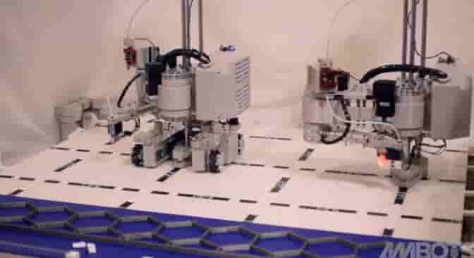 Swarm 3D printing