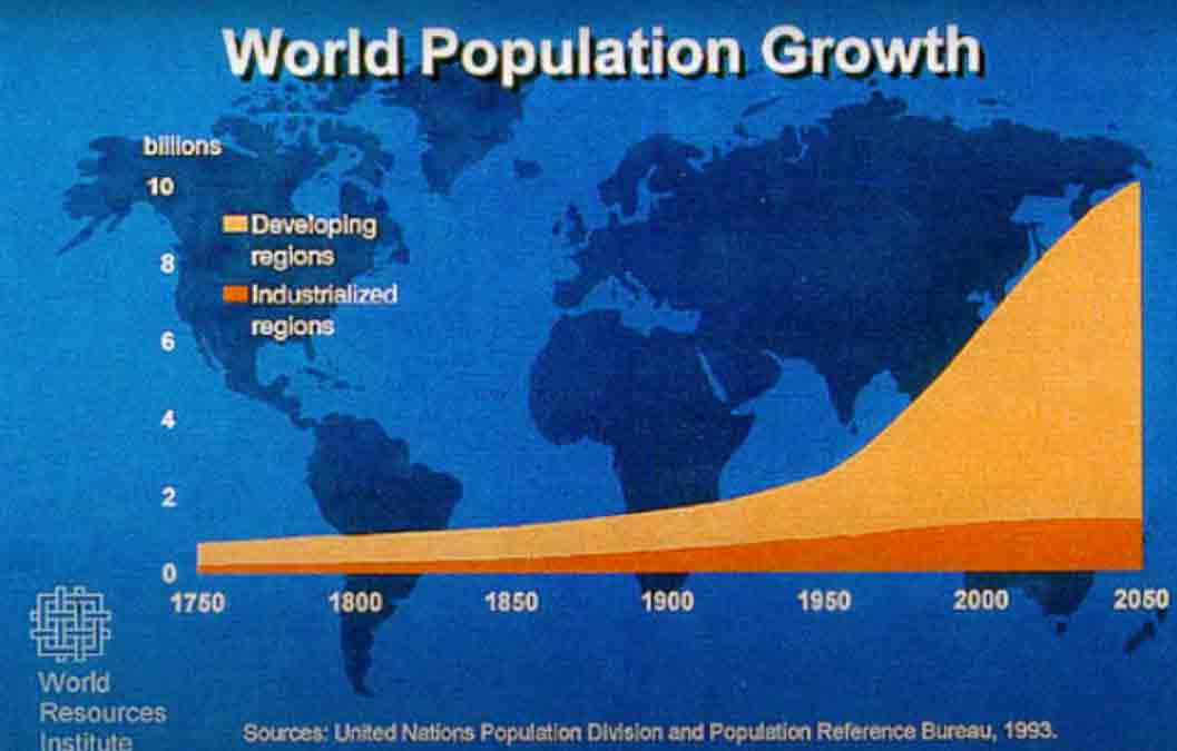 World population growth table