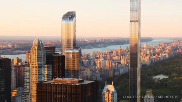 NY's slender towers