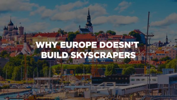 No skyscrapers