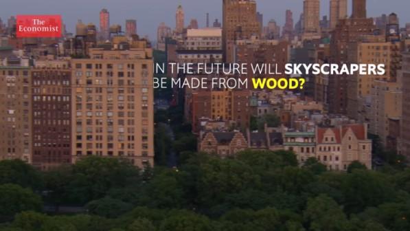 Wooden skyscrapers