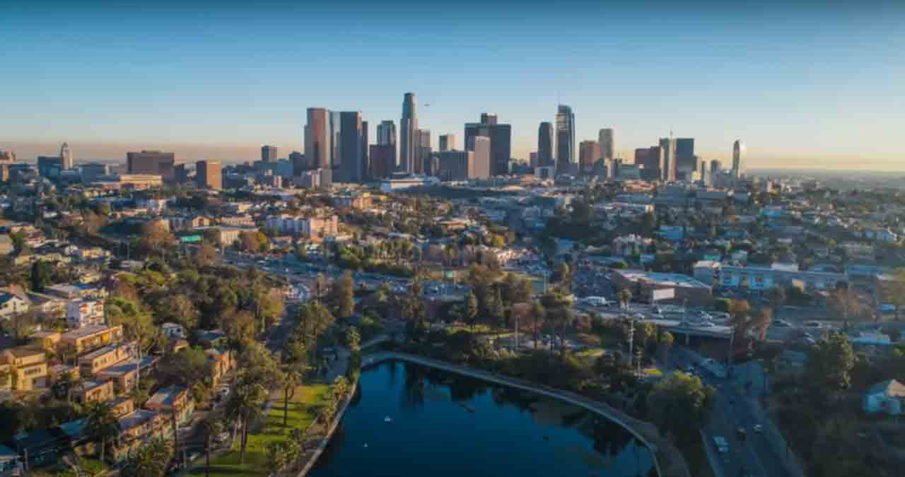 California cityscape