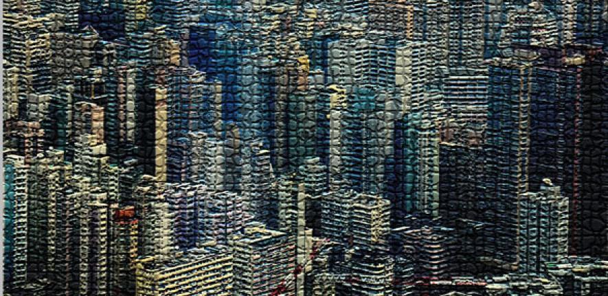 City made of bone