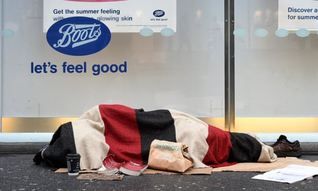 Number of homeless