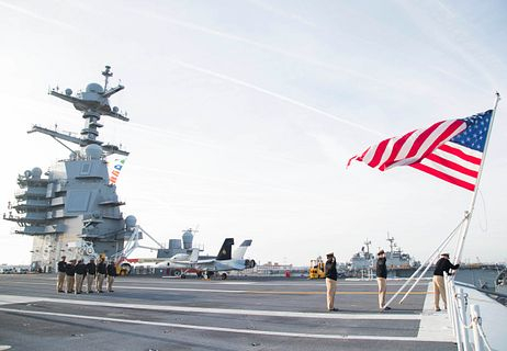 US supercarrier
