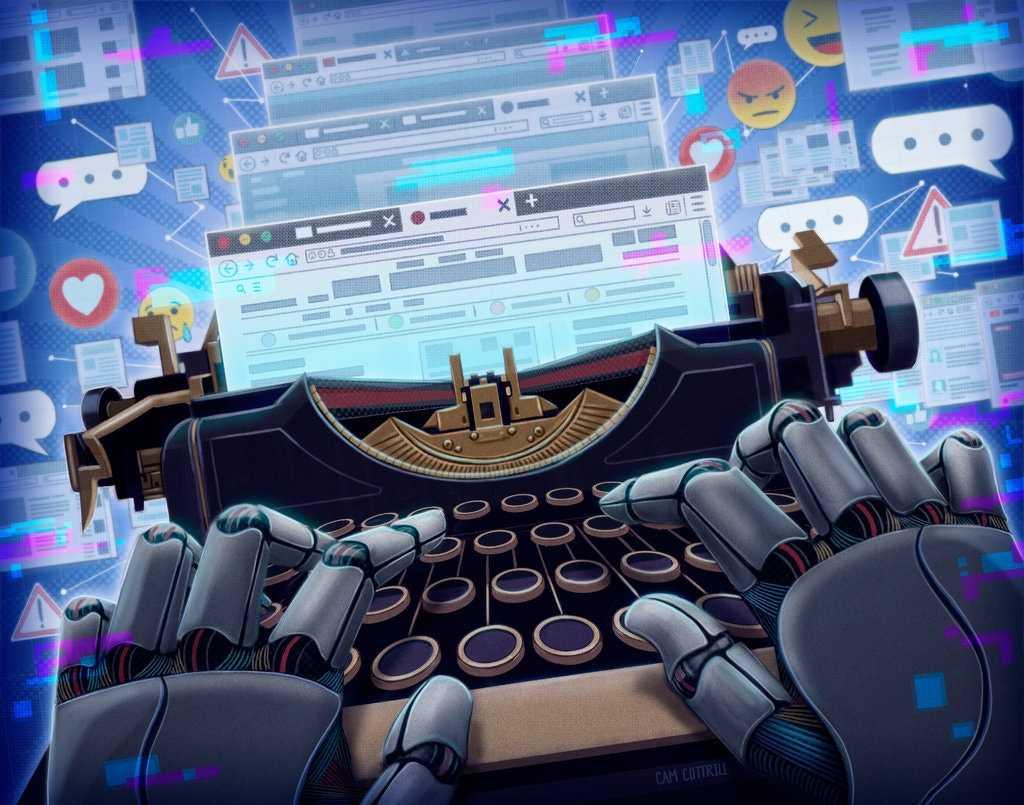 Robot reporter rise