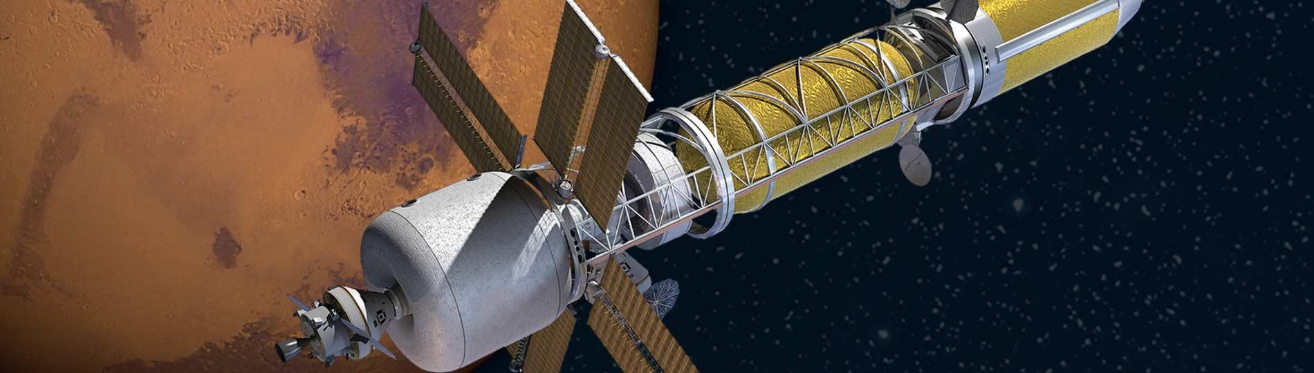 NASA is bringing back cold war-era atomic rockets to get to Mars