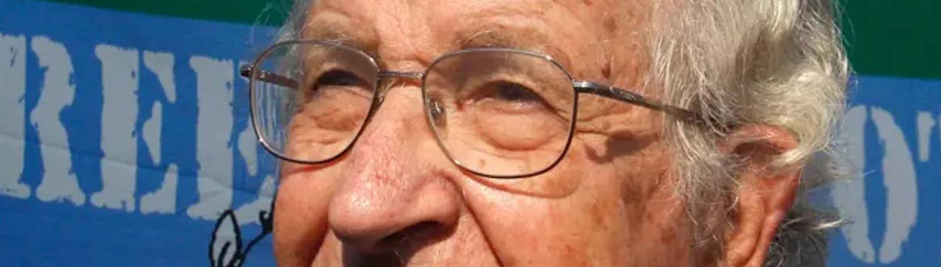 "Noam Chomsky: Social media is ""undermining democracy"""